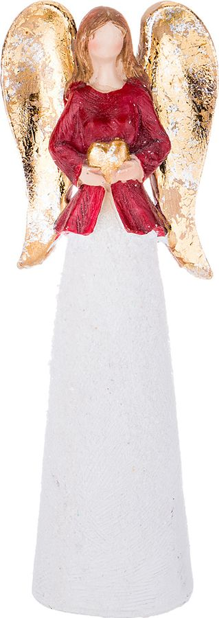 Фигурка декоративная Lefard, 100-571, белый, 18 х 6 х 3 см фигурка декоративная crystocraft петух 4 2 3 1 6 3 см серебро