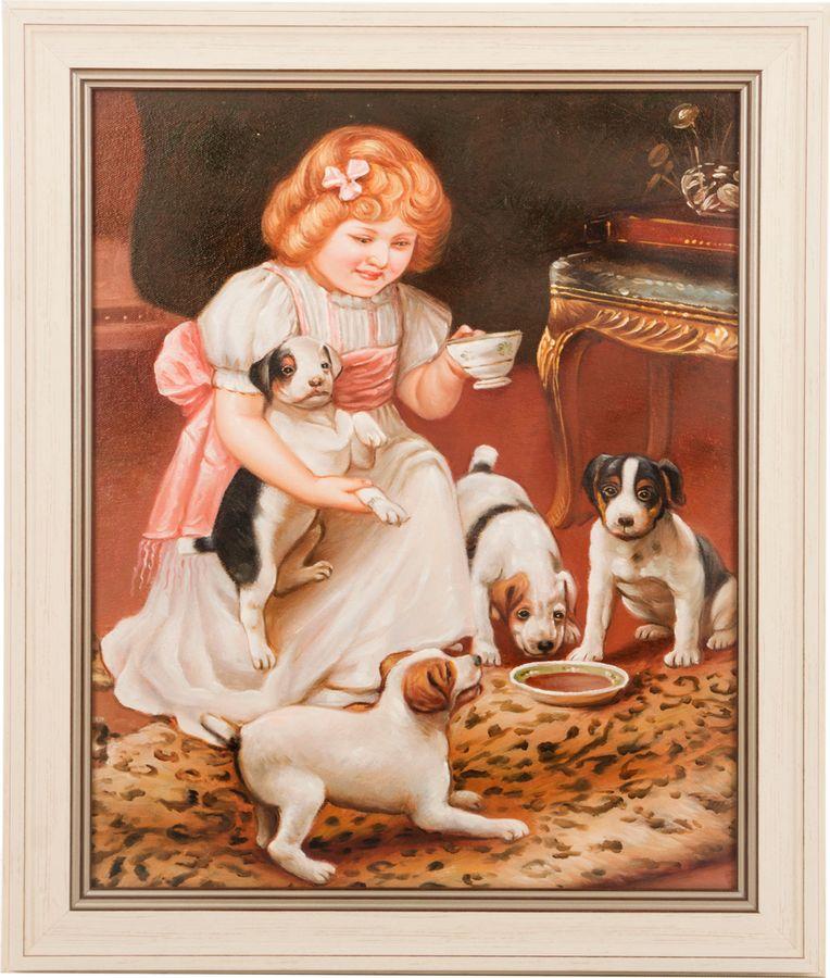 Картина Lefard, 107-996, 40 х 50 см квикдекор картина на холсте кролик в белой корзинке 60 см х 40 см