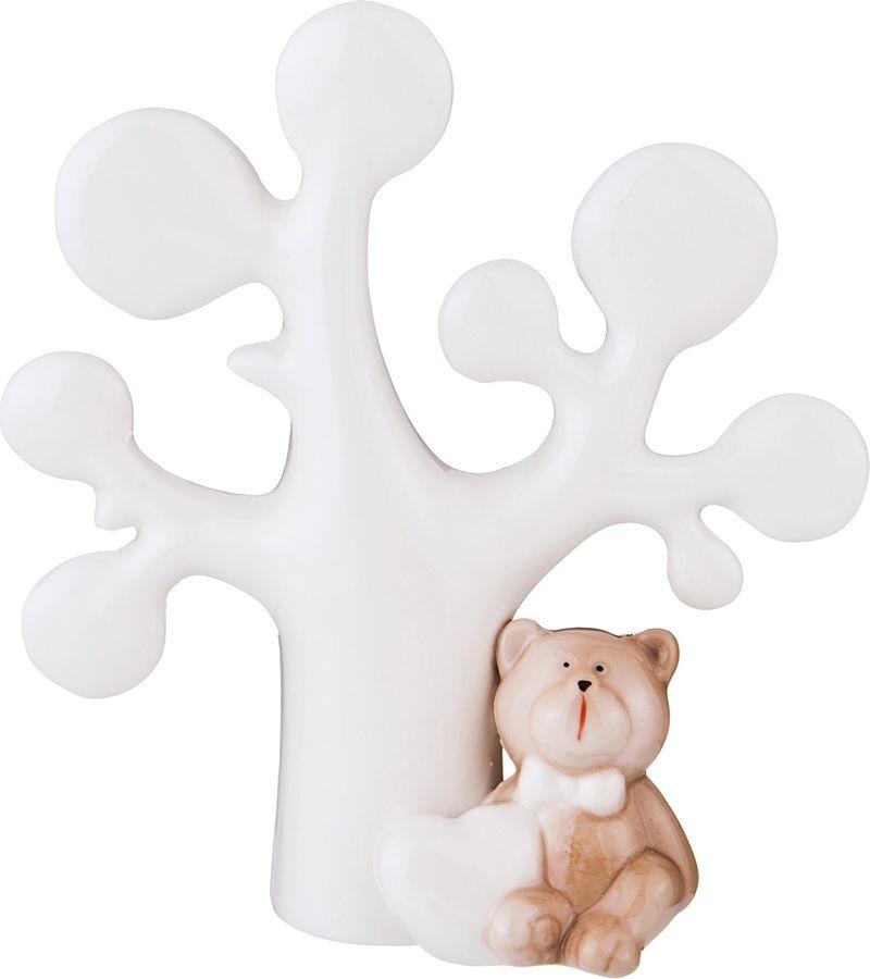 Фигурка декоративная Lefard, 146-955, белый, 12,5 х 4,8 х 14 см