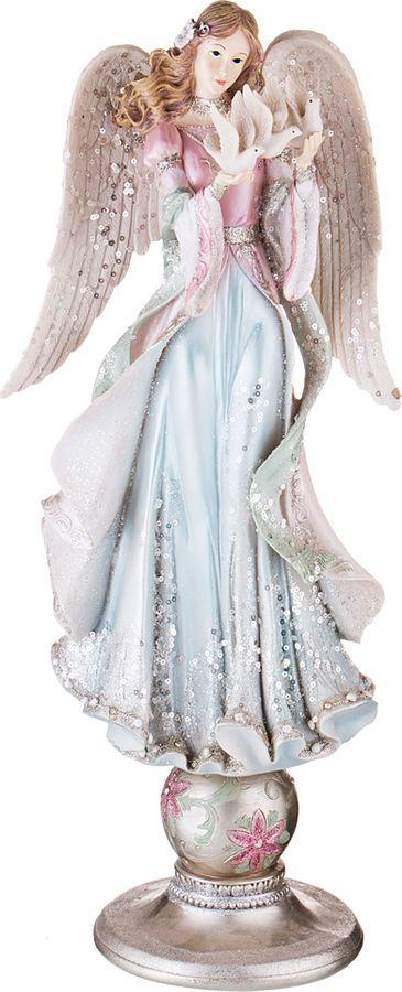 цены на Фигурка декоративная Lefard, 146-970, голубой, 23 х 20 х 54 см  в интернет-магазинах