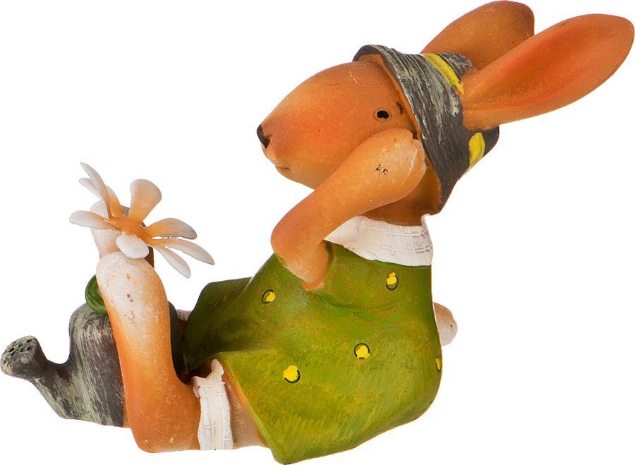 Фигурка декоративная Lefard, 156-984, зеленый, 5 х 10 х 6 см фигурка декоративная lefard йога кот 162 315 5 х 5 х 10 см