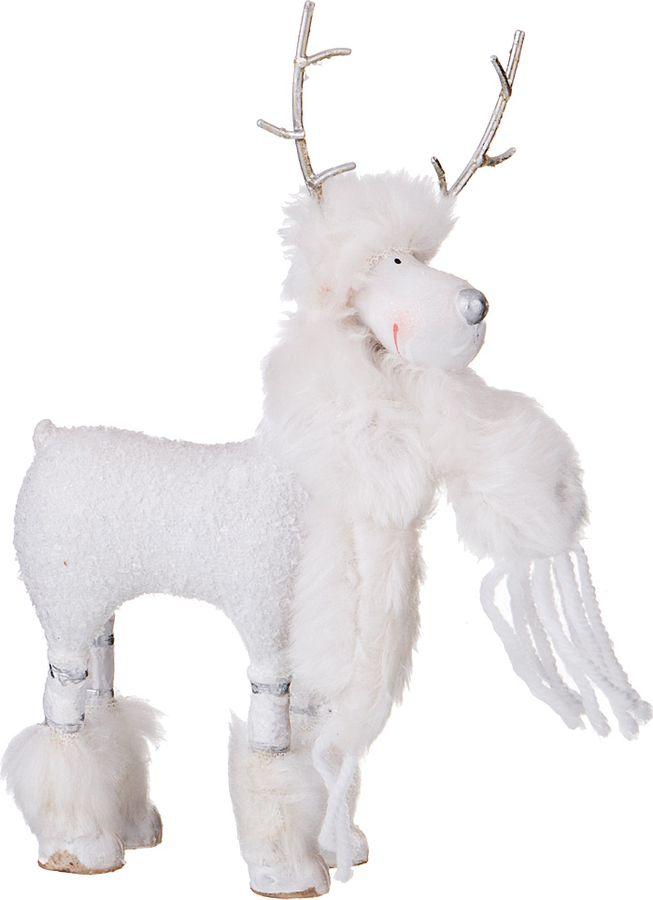 купить Фигурка декоративная Lefard, 233-194, белый, 10,5 х 5 х 19 см по цене 644 рублей