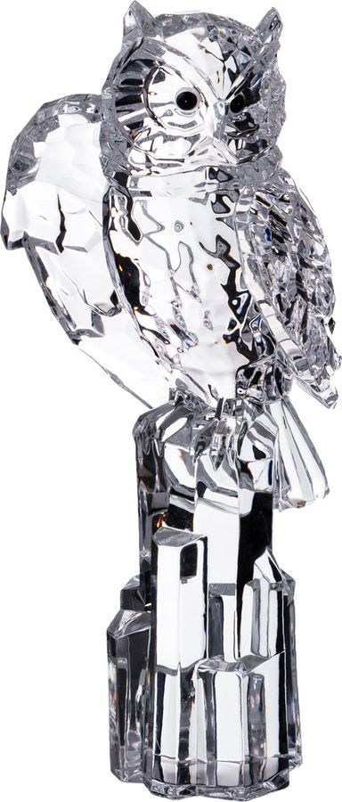 Фигурка декоративная Lefard Сова-Мудрость, 234-126, серый, 8 х 8 х 19 см салфетница lefard сова 7 х 3 5 х 8 см