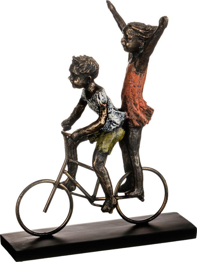 Статуэтка Lefard Ар-Нуво Дети, 272-230, черный, 25 х 15 х 30 см цены
