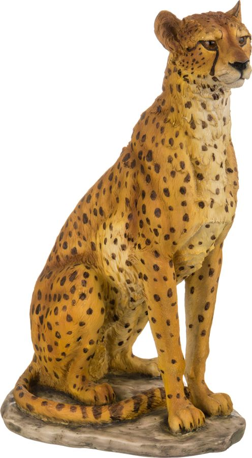 Статуэтка Lefard Гепард, 272-237, желтый, 23 х 19 х 33 см вентилятор 0020098002 для гепард 23 цена в москве