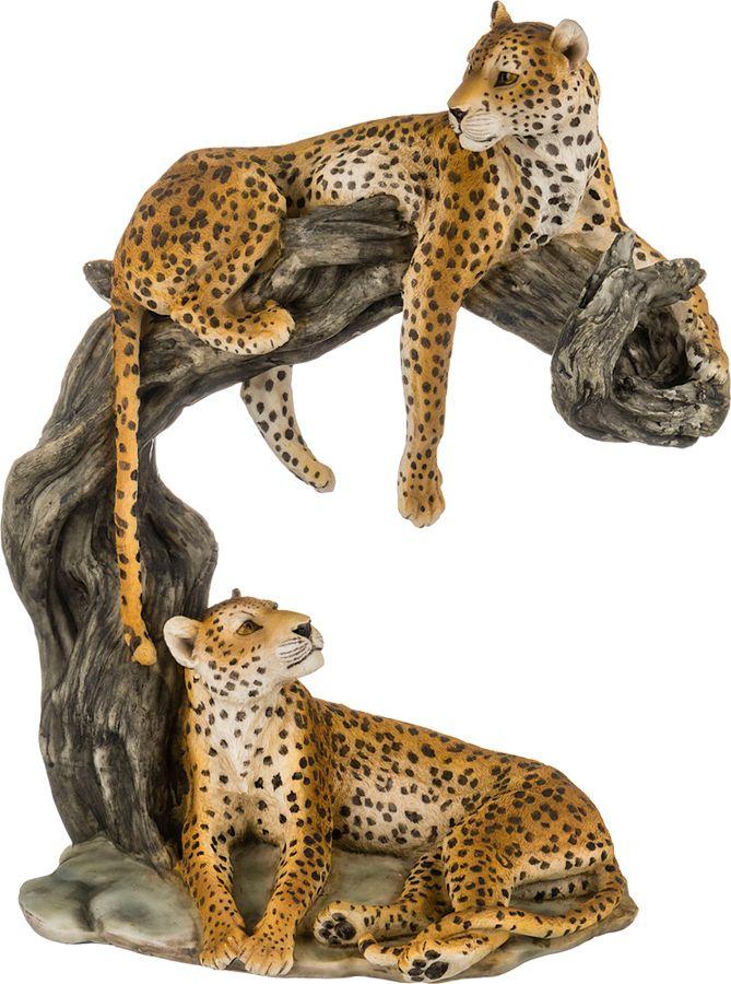 Статуэтка Lefard Леопард, 272-238, желтый, 28 х 17 х 35 см mantra 4634