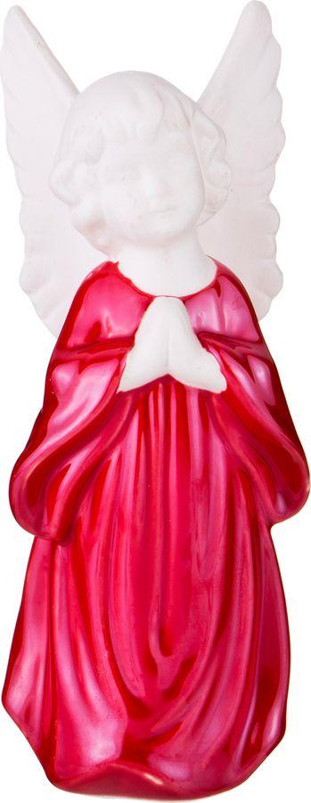 Фигурка декоративная Lefard, 146-1075, розовый, 5,7 х 5,7 х 14,8 см