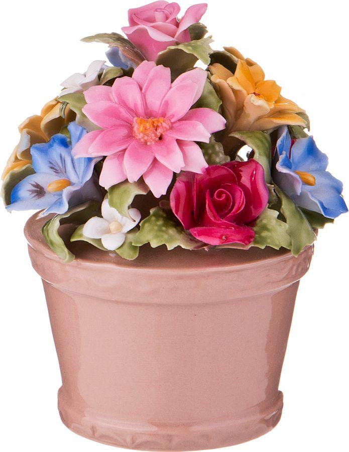Статуэтка Lefard Цветы в горшке, 461-247, 7 х 7 х 8 см набор розеток lefard 7 8 х 7 8 х 3 см 4 шт k31040 3