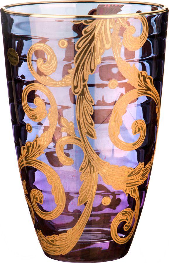 Ваза Lefard Алессандра, 291-043, фиолетовый, высота 24 см цена 2017