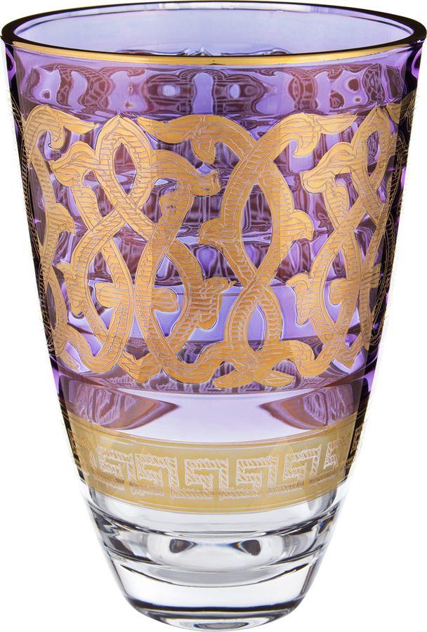 Ваза Lefard Алессандра, 291-056, фиолетовый, высота 24 см цена 2017