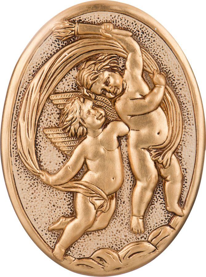 Панно интерьерное Lefard Ангелы, 335-274, золотистый, 35 х 26 см