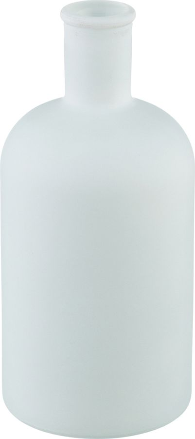 Ваза Lefard Black & White, 600-641, белый, высота 20 см