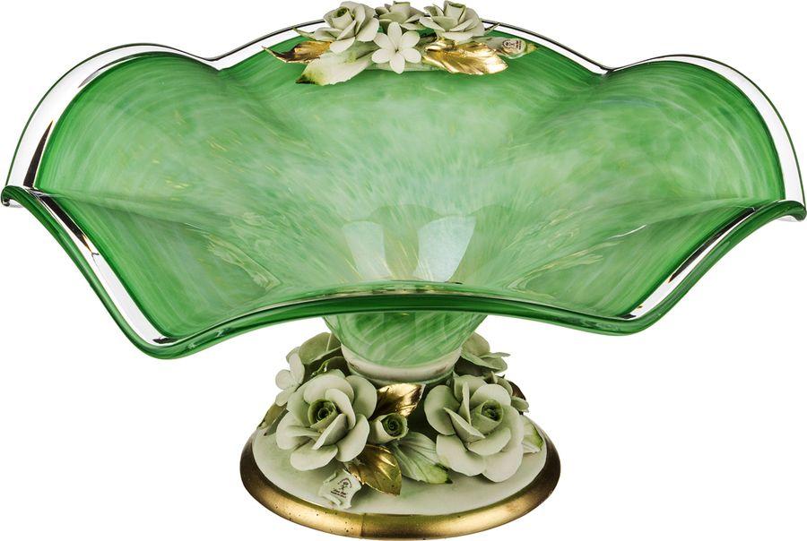 Декоративная чаша Lefard, 647-643, зеленый, 45 х 45 х 21 см декоративная чаша lefard 647 645 зеленый 25 х 14 см