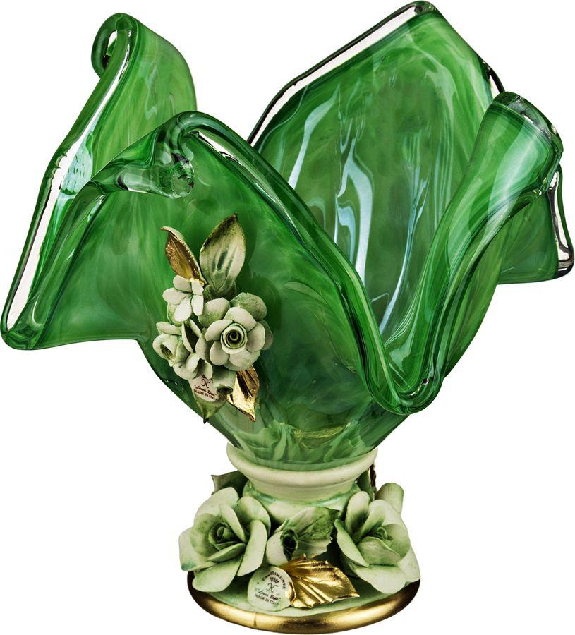 Декоративная чаша Lefard, 647-649, зеленый, 20 х 20 х 22 см декоративная чаша lefard 647 645 зеленый 25 х 14 см