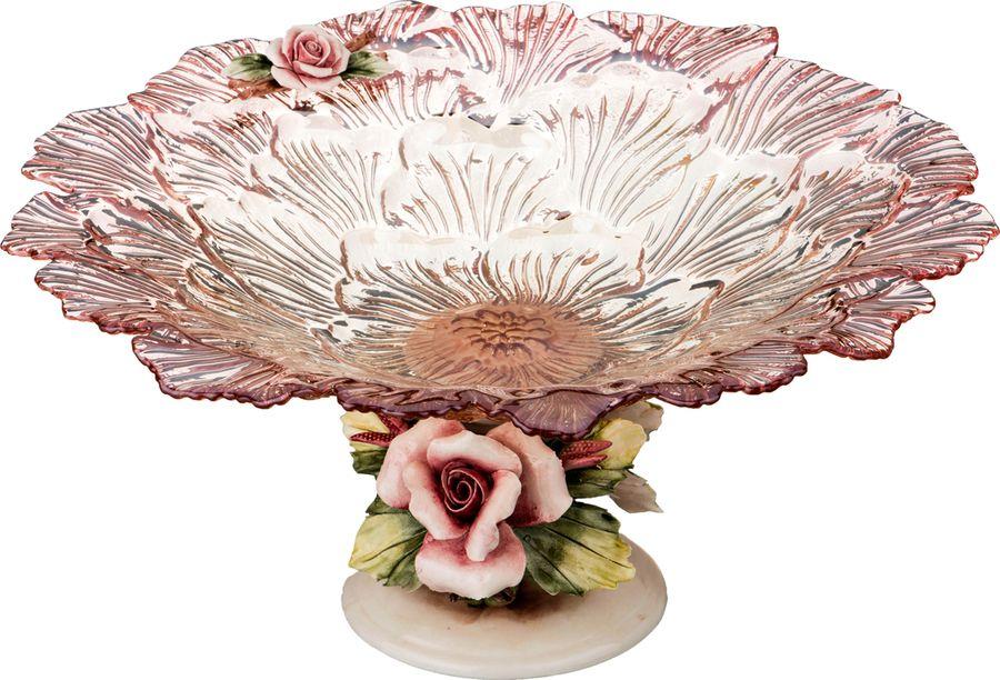 Декоративная чаша Lefard, 316-1035, розовый, 40 х 40 х 20 см
