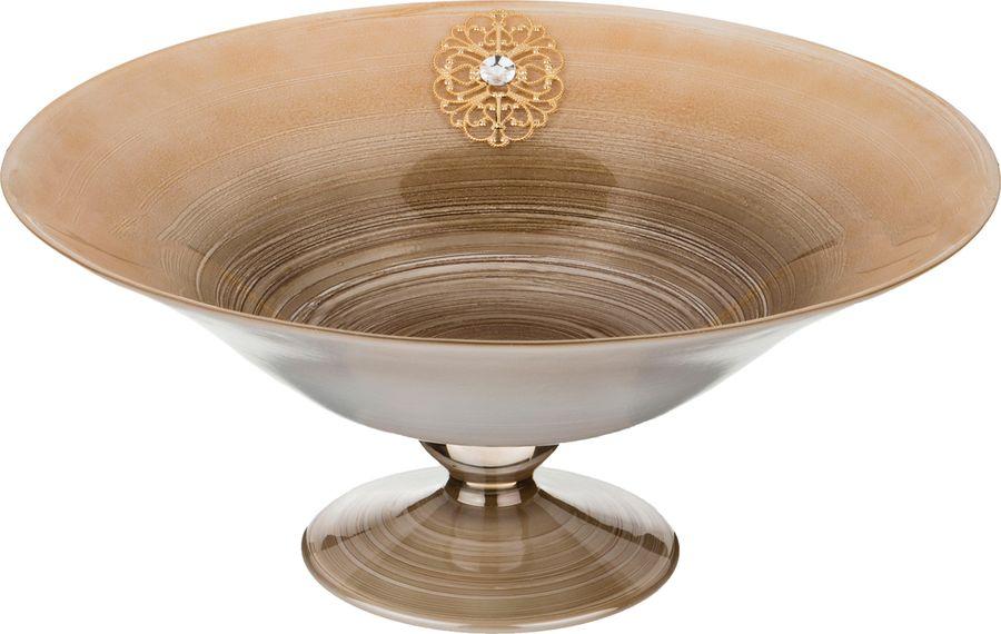 цена на Декоративная чаша Lefard, 316-1129, голубой, 40 х 40 х 18 см