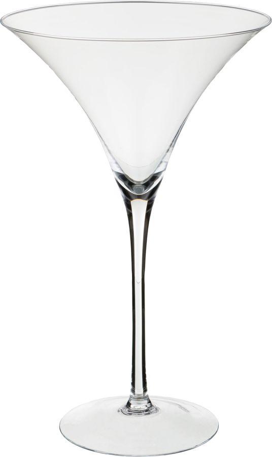 Ваза Lefard, 316-1223, прозрачный, 24 х 24 х 40 см ваза lefard burano с крышкой 316 1011 прозрачный высота 27 см