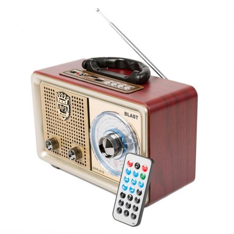 Радиоприемник BLAST BPR-610 золото, 10034, золотой