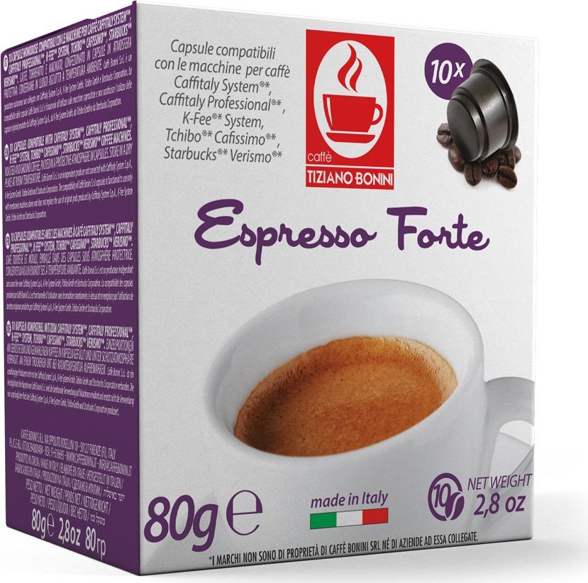 Кофе капсульный Caffe Tiziano Bonini Espresso Forte, для системы Caffitaly, 10 шт caffitaly s07 page 7