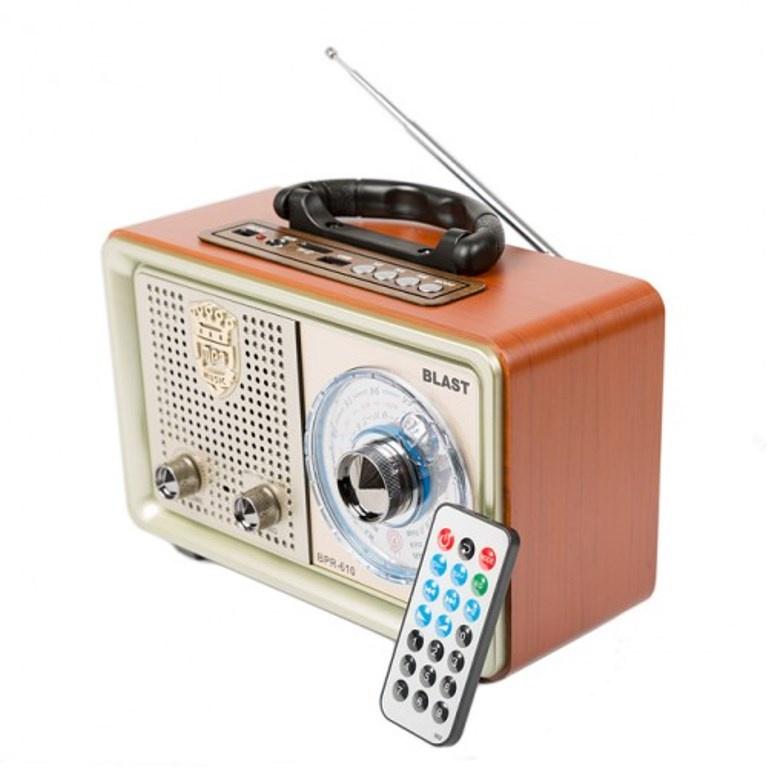 Радиоприемник BLAST BPR-610 шампанское, 10035, желтый