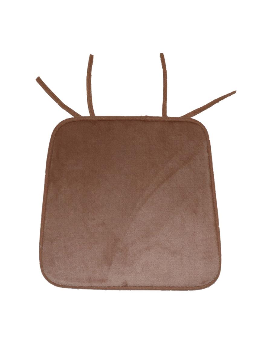 Подушка на стул DeНАСТИЯ на стул, 40*35*38, бежевыйP111121Подушка на стул квадратной формы, крепится к стулу при помощи завязок. Допустима стирка в стиральной машине при 30 градусах с применением нейтрального моющего средства.