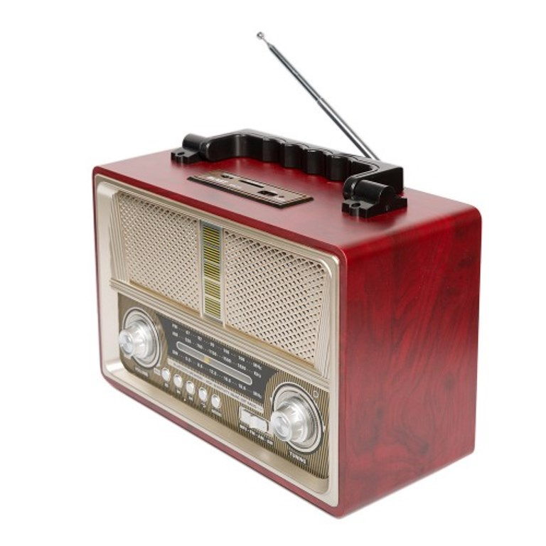 Радиоприемник BLAST BPR-712 шампанское, 10031, желтый