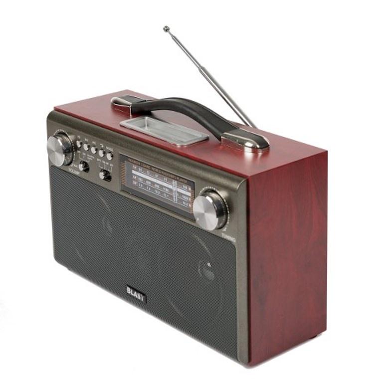 Радиоприемник BLAST BPR-812 черный, 10032