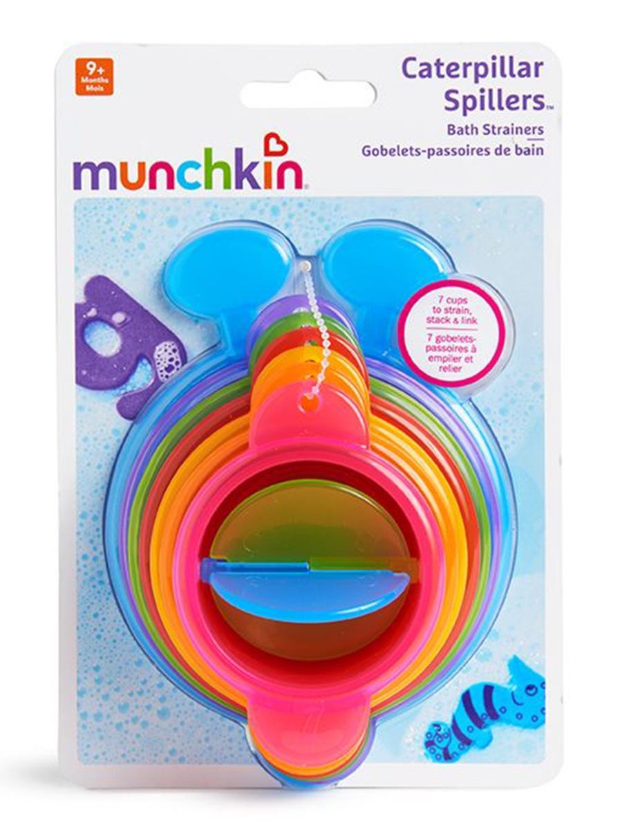 """Игрушка для ванны Munchkin """"Пирамидка-гусеница"""""""