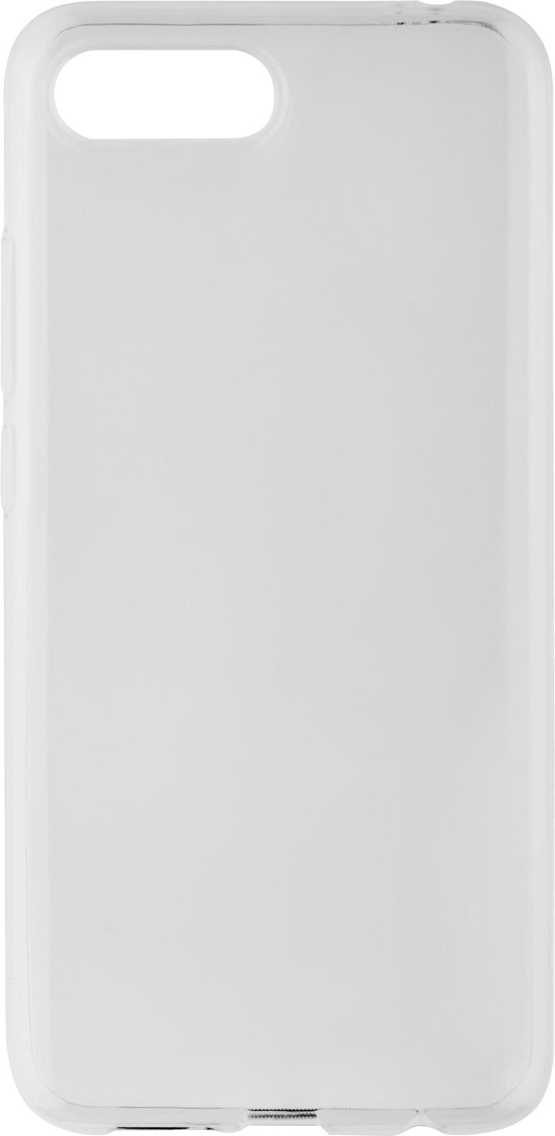 Чехол клип-кейс Interstep Is Slender для Huawei Honor 10, прозрачный цена и фото