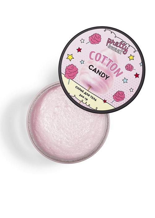 Скраб для тела Cotton Candy с ароматом сахарной ваты