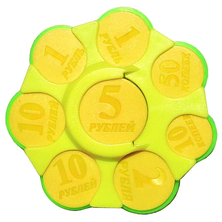 Монетник MARKETHOT Карманная пластиковая монетница, Z02012