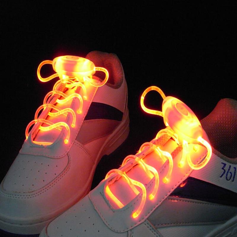 Шнурки MARKETHOT  Светящиеся шнурки , оранжевый MARKETHOT