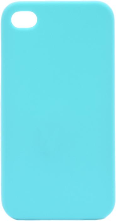 Чехол для сотового телефона GOSSO CASES для Apple iPhone 4S Soft Touch, 201901, голубой