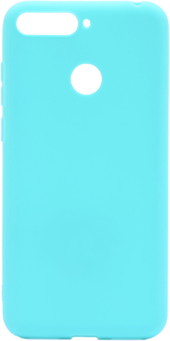 Чехол для сотового телефона GOSSO CASES для Huawei Honor 7C / Y6 Prime (2018) Soft Touch, 201911, голубой