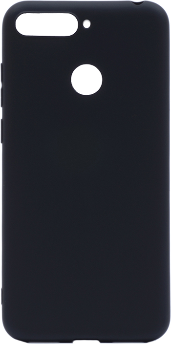 Чехол для сотового телефона GOSSO CASES для Huawei Honor 7C / Y6 Prime (2018) Soft Touch, 201913, черный 5pcs 21cm length spring tube bender ct 102 l spring pipe bender 1 4 5 16 3 8 1 2 5 8 connector for refrigerator