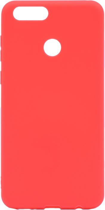 Чехол для сотового телефона GOSSO CASES для Huawei Honor 7X Soft Touch, 201908, красный чехол для сотового телефона gosso cases для huawei honor 7x soft touch 201910 черный