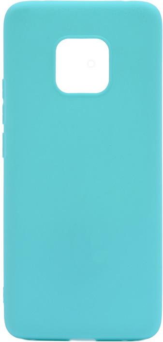 Чехол для сотового телефона GOSSO CASES для Huawei Mate 20 Pro Soft Touch, 198684, голубой