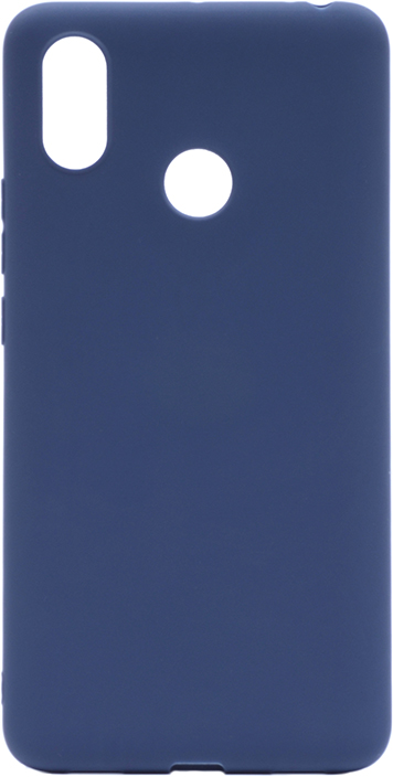 Чехол для сотового телефона GOSSO CASES для Xiaomi Mi Max 3 Soft Touch, 201914, темно-синий