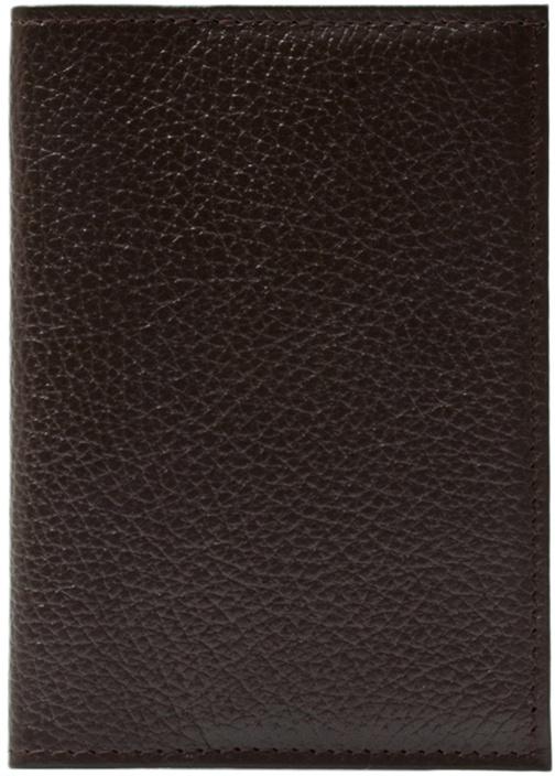 Обложка для паспорта ELOLE DESIGN для паспорта RAINBOW SMILE, 193535, коричневый ежедневник с принтом коллекция elole design космос черный нат кожа