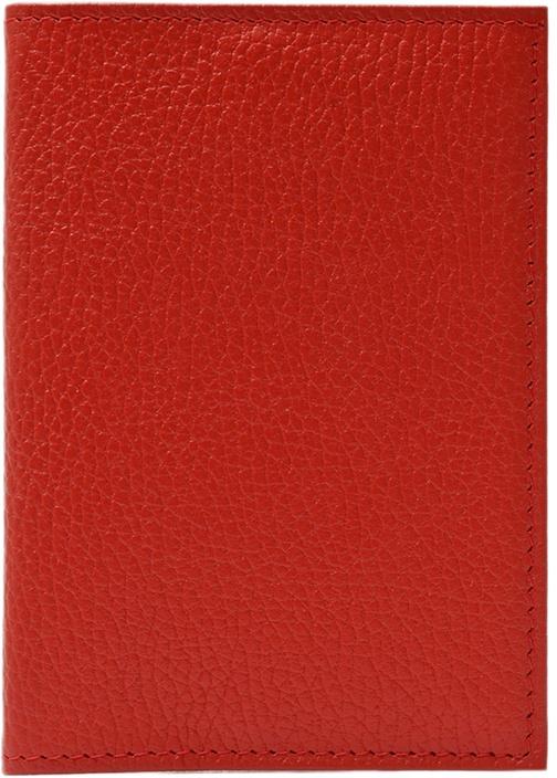 Обложка для паспорта ELOLE DESIGN для паспорта RAINBOW SMILE, 193527, красный ежедневник с принтом коллекция elole design космос черный нат кожа