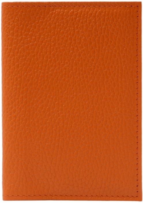 Обложка для паспорта ELOLE DESIGN для паспорта RAINBOW SMILE, 193529, оранжевый ежедневник с принтом коллекция elole design космос черный нат кожа