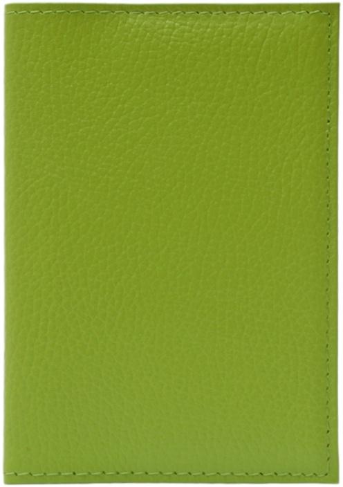 Обложка для паспорта ELOLE DESIGN для паспорта RAINBOW SMILE, 193533, салатовый ежедневник с принтом коллекция elole design космос черный нат кожа