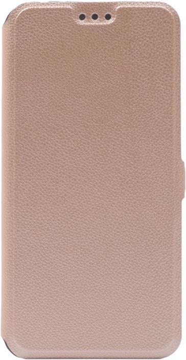 Чехол для сотового телефона GOSSO CASES для Huawei Honor 8C Book Type, 204371, золотой