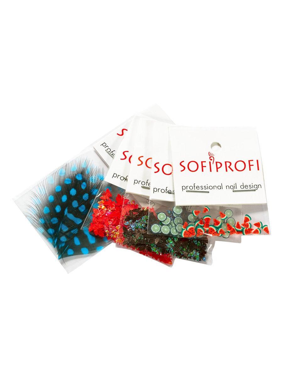 Набор для дизайна в пакетах Sofiprofi НД-ПАК-36 (5 шт) №36 графин с фильтром minima 1 0 л прозрачный v76901 viva scandinavia