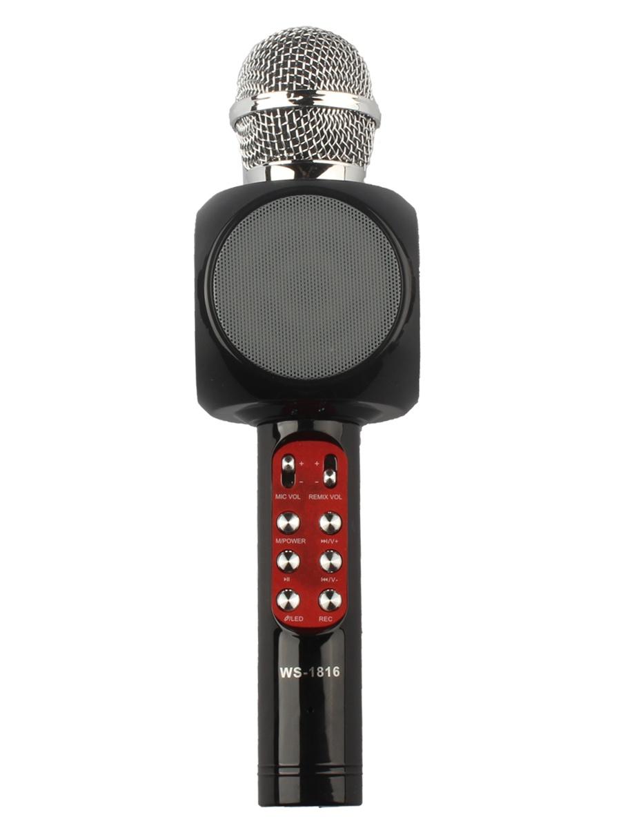 Микрофон Wster WS-1816, 4605170003309, черный цена