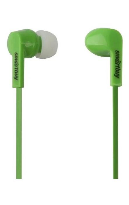 Наушники SmartBuy SBE-155, 3456569399, зеленый наушники для ноутбука