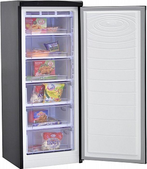 Морозильник Nord DF 165 BAP, черный