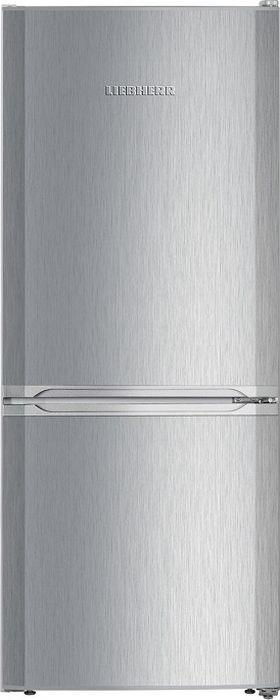 Холодильник Liebherr CUel 2331-20001, двухкамерный, серебристый двухкамерный холодильник liebherr cbnpes 5758 20