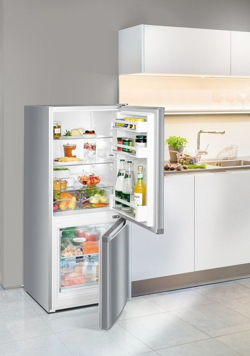 Холодильник Liebherr CUel 2331-20001, двухкамерный, серебристый Liebherr