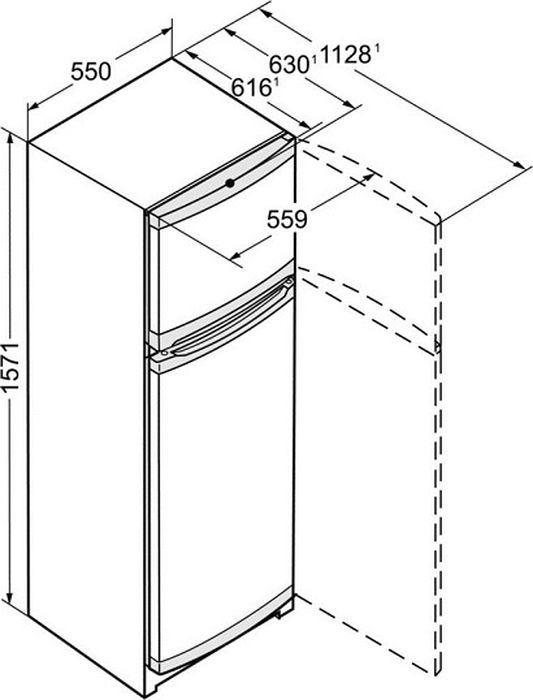 Холодильник Liebherr CT 2931-20001, белый Liebherr
